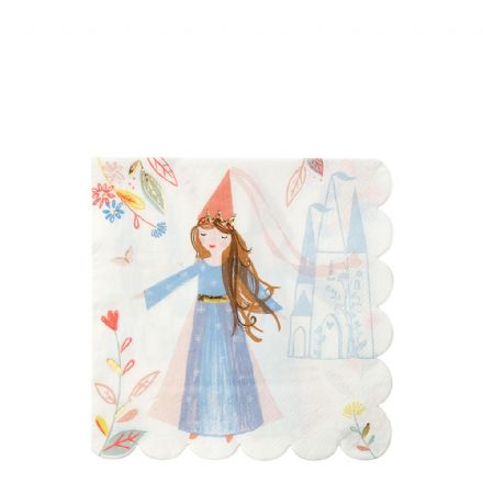 Meri Meri Princess Paper Party Napkins